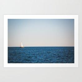 Into the Blue x Nautical Art Art Print
