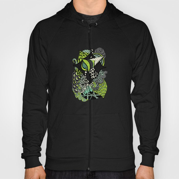 The flying snail Hoody