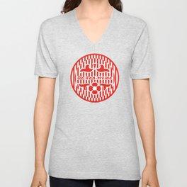 Denmark De Rød-Hvide (The Red-White) ~Group C~ Unisex V-Neck