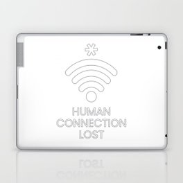 Human Connection Lost Laptop & iPad Skin