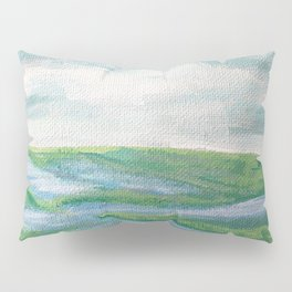 Lowcountry Marsh Landscape Pillow Sham