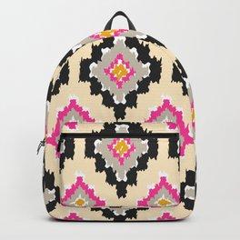 Boho Ikat Diamonds Backpack