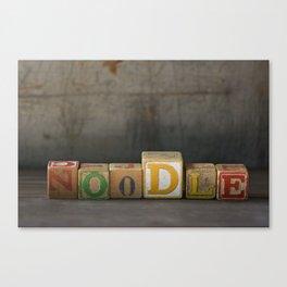 noodle Canvas Print