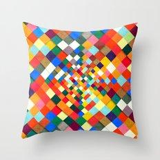 Colorful Nite Throw Pillow