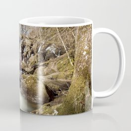 Becky Falls in Spring Coffee Mug