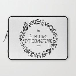 Être Libre, Dit Combeferre Laptop Sleeve