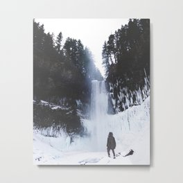 Snow Day 9 Metal Print