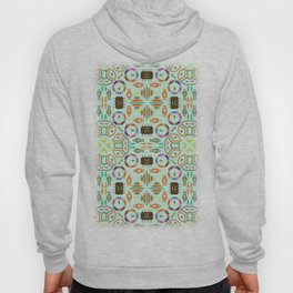 "Seamless pattern in the style of ""printed circuit board"" Hoody"