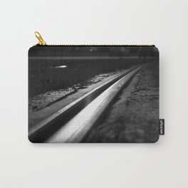Abstract view on the railroad Carry-All Pouch