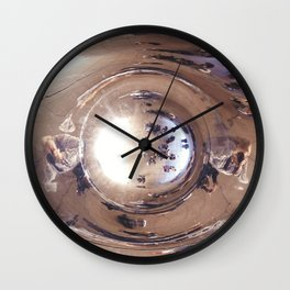 Reflecting, Under Cloud Gate, Chicago Wall Clock