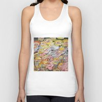 turkey Tank Tops featuring Turkey Burgers by cahill wessel