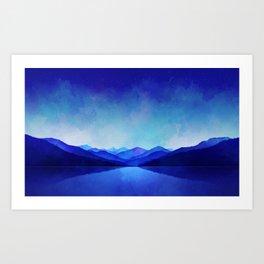 Midnight Blue Kunstdrucke