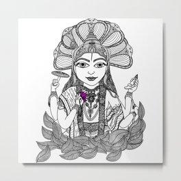Vishnu  |  The Preserver Metal Print