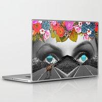trip Laptop & iPad Skins featuring Trip by Pame Pinto Rojas