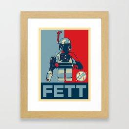 FETT Framed Art Print