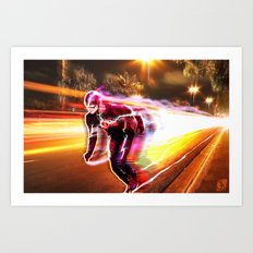 Freeze Frame Art Print