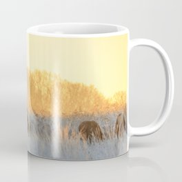 Morning Deer Coffee Mug