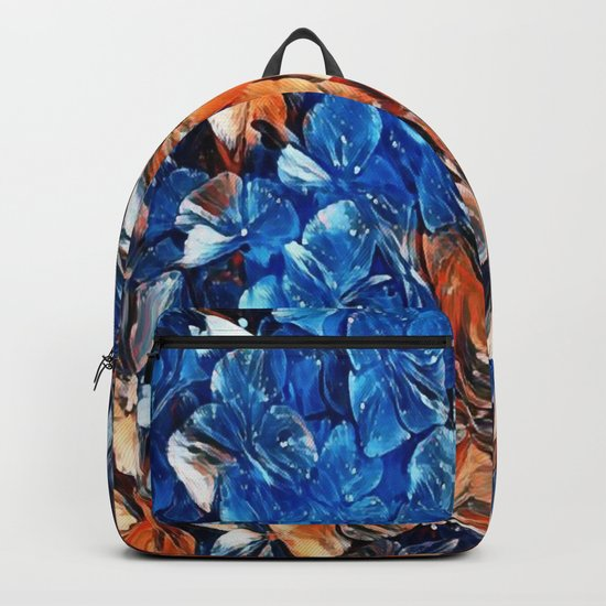 Bold and Beautiful Floral Abstract Backpack
