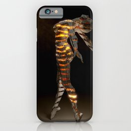 Abstract Portrait VI iPhone Case