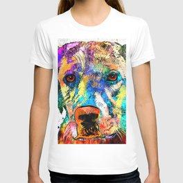Labrador Retriever Grunge T-shirt