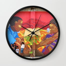 """Plant the Seed"" / 41 Fleet St Wall Clock"