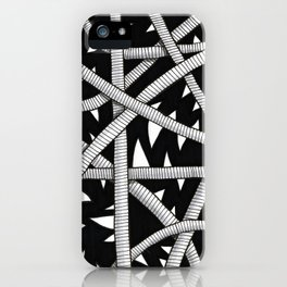 Cords and Spikes iPhone Case