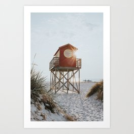 Summer at the beach - Landscape and Nature Photography Art Print