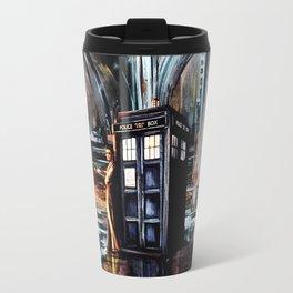 Doctor Who Art Painting Travel Mug