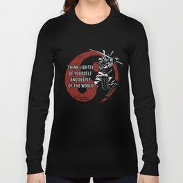 Miyamoto Musashi, Samurai Long Sleeve T-shirt