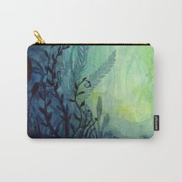 Underwater Ocean Foliage Carry-All Pouch
