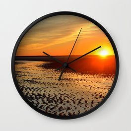 Sunset on Cape Cod Wall Clock