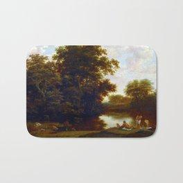 Joris van der Haagen Landscape with Bathers Bath Mat