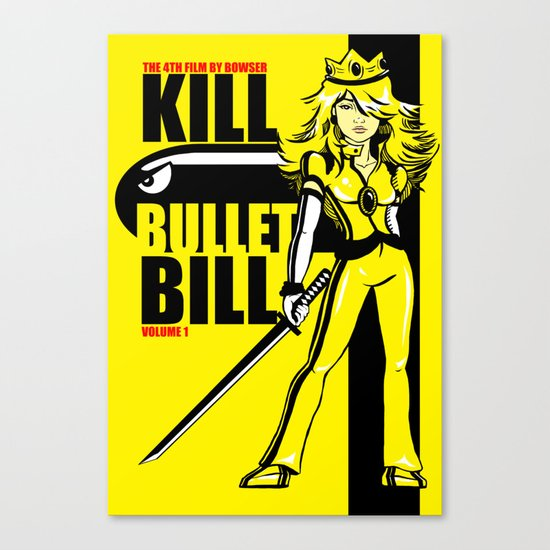 Kill Bullet Bill Canvas Print