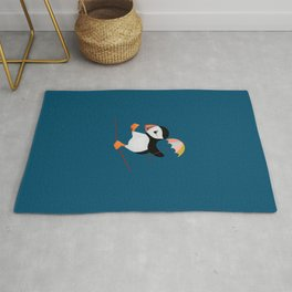 High Wire Puffin Rug