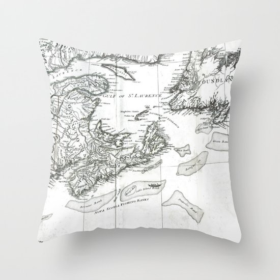 New Britain Throw Pillow