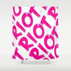 Riot Shower Curtain