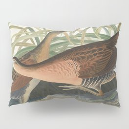 Fresh Water Marsh Hen from Birds of America (1827) by John James Audubon etched by William Home Liza Pillow Sham