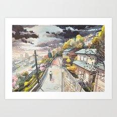 Bicycle Boy 08 Art Print