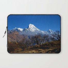 Panoramic View Of Annapurna Ghorepani Poon Hill Laptop Sleeve