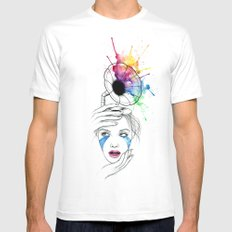 Music understands MEDIUM Mens Fitted Tee White