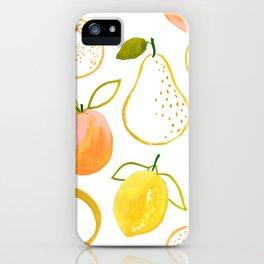 Fruit Salad by Lindsay Brackeen iPhone Case