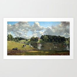 John Constable Wivenhoe Park, Essex Art Print