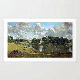 John Constable Wivenhoe Park, Essex Art Print