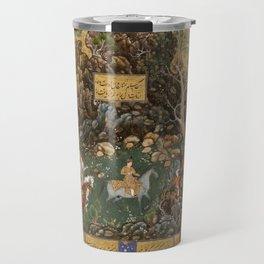 Abdul-Samad - Hunting Scene (1591) Travel Mug