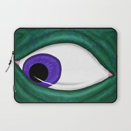 The Living Picture #5 - Eyes Laptop Sleeve
