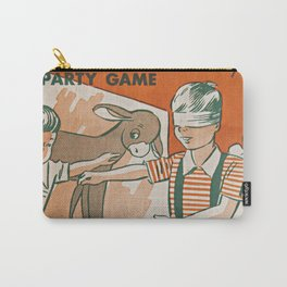 pin the tail on the donkey vintage game Carry-All Pouch