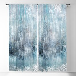 Winter Pattern - Light Blackout Curtain