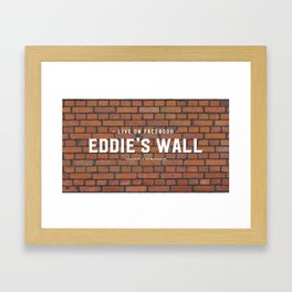 Eddie's Wall Framed Art Print