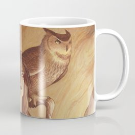 Owl - A Compendium of Witches Coffee Mug