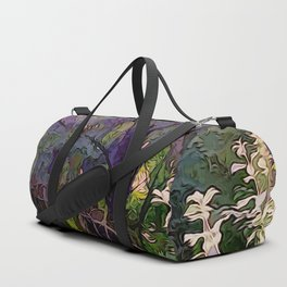 Go Deeper Into The Woods Duffle Bag